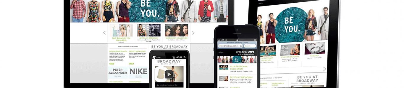 Nyt responsive design website