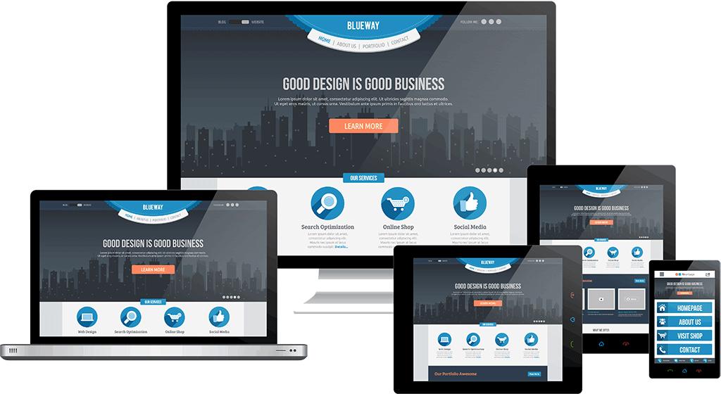 Ny hjemmeside, responsive design, mobilvenlig hjemmeside